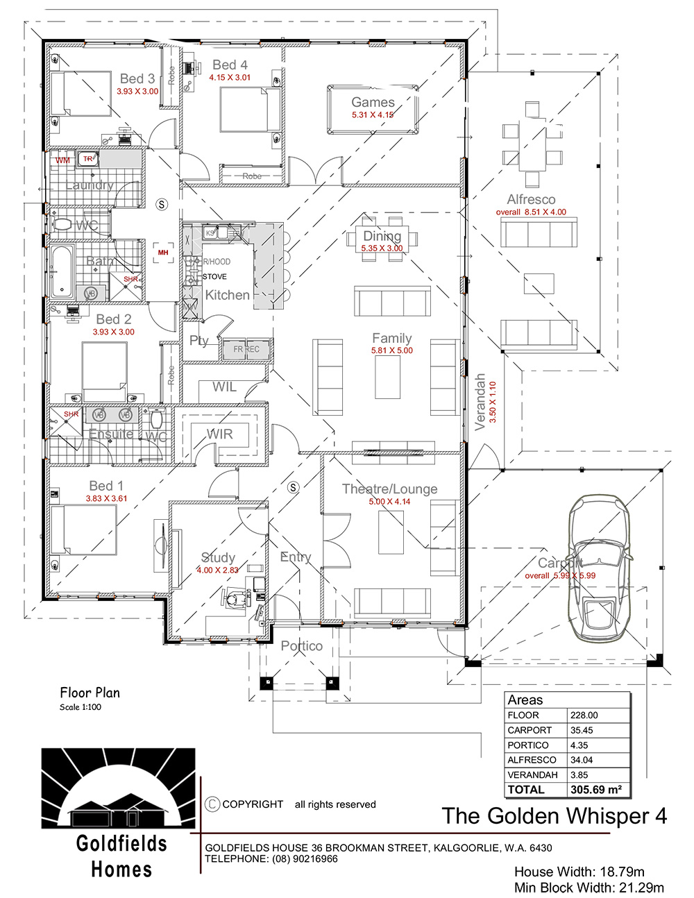 Display Home Floor Plan
